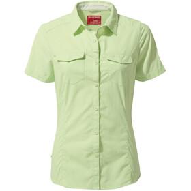 Craghoppers NosiLife Adventure II Kortærmet skjorte Damer, grøn